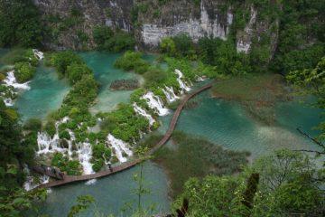 Plitvice pont vert