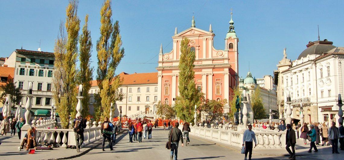 Prešeren_Square,_Ljubljana,