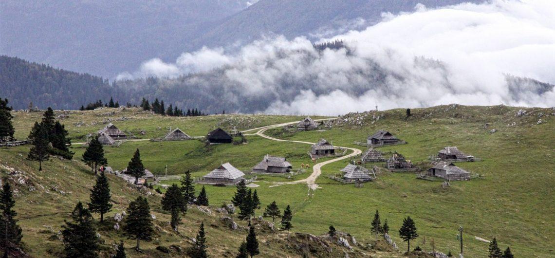 Velika Planina Slovénie