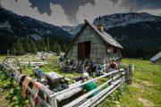 arrêt dans un alpage en Slovénie