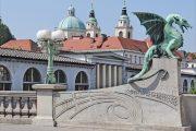 Ljubljana - pont des dragons