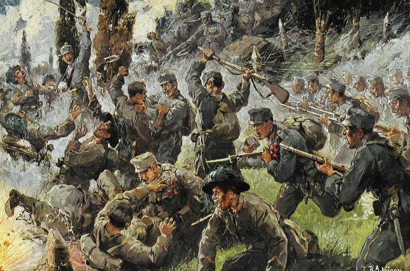 soca slovénie guerre